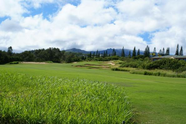 Hole 14 Kapalua Plantation