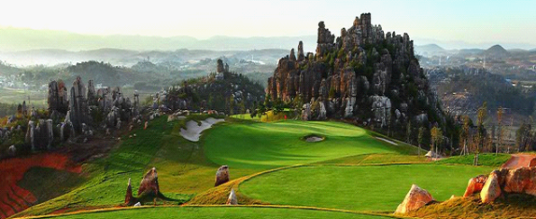 China golf