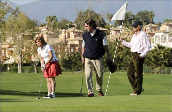 aznar golf